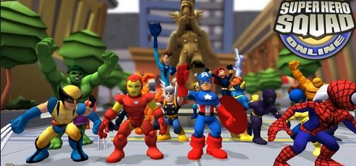 4. Marvel Super Hero Squad Online