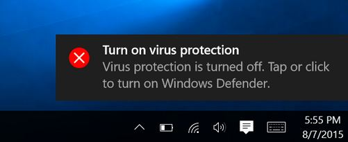 1. Turn Off your Outsider Antivirus Utility