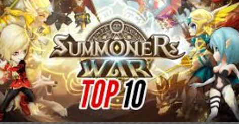 10 Games like Summoners War