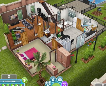8. The Sims FreePlay
