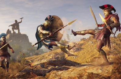 9. Assassin's Creed Odyssey (2018)